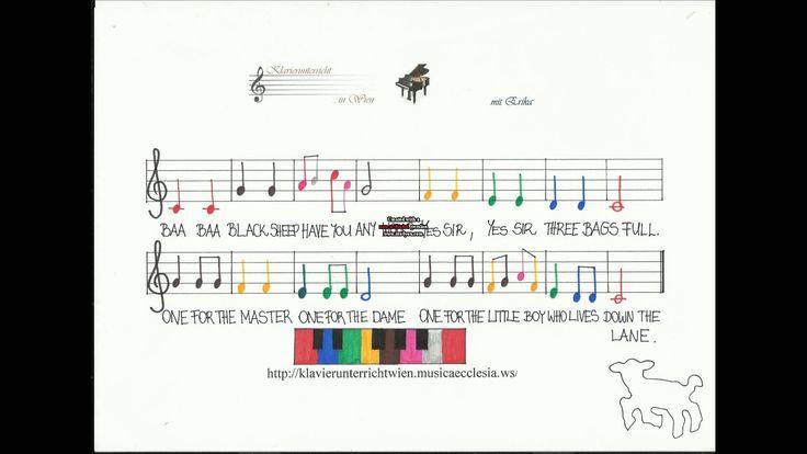 Baa baa black sheep-children songs