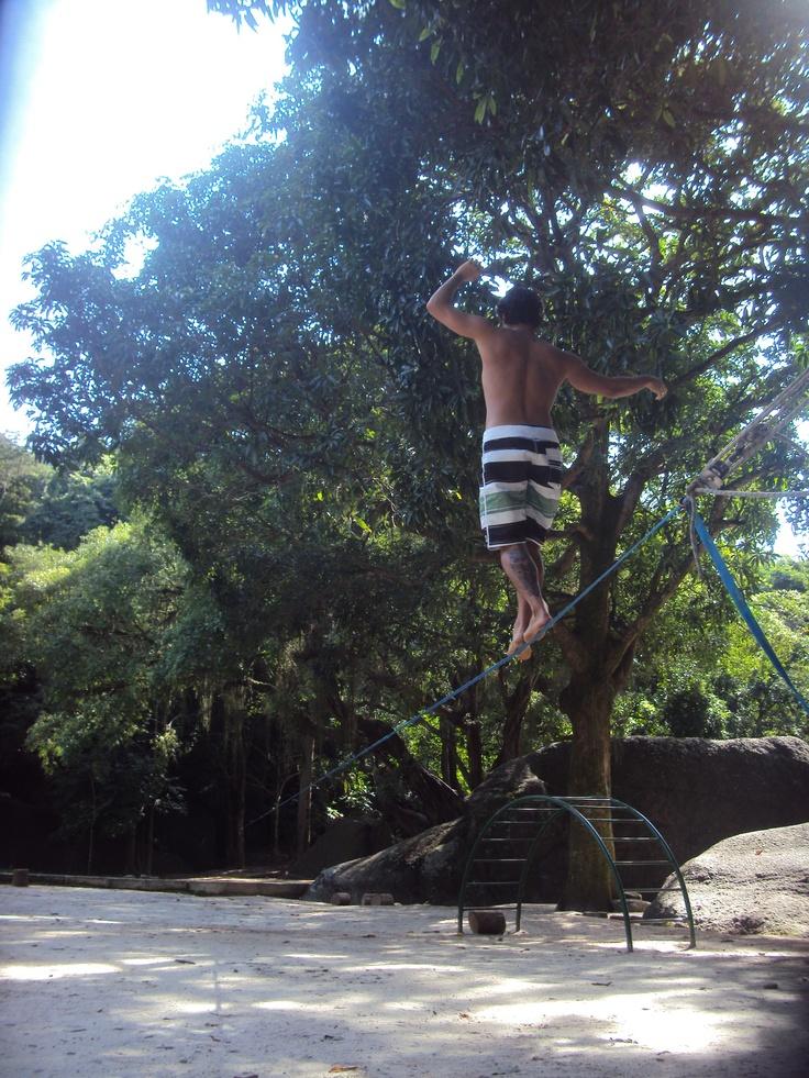 Longline 50 metros Parque Nacional do Grajáu, RJ