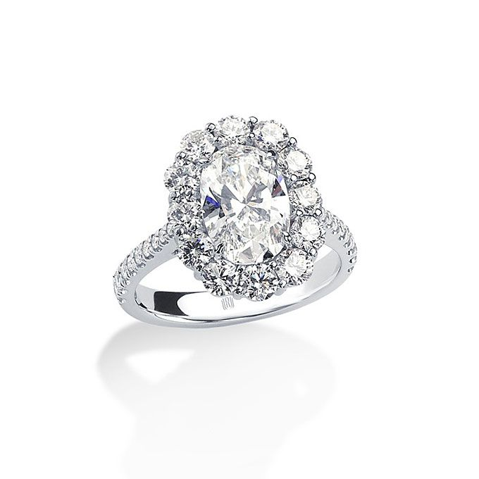 diamond oval cut - photo #48