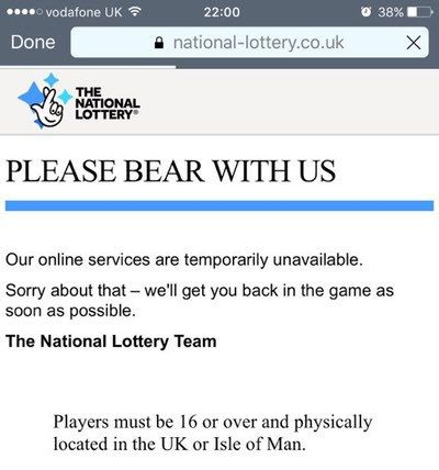 UK National #Lottery knocked offline by a #DDoS attack on Saturday  http://securityaffairs.co/wordpress/63734/hacking/uk-national-lottery-ddos.html  #securityaffairs