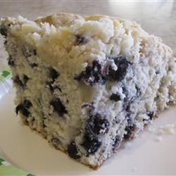Blueberry Buttermilk Coffeecake Allrecipes.com