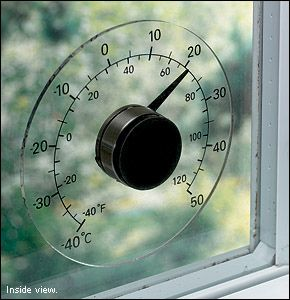 window thermometer (need two in total, check with Hanna).  AB804 Lee valley - $12.50