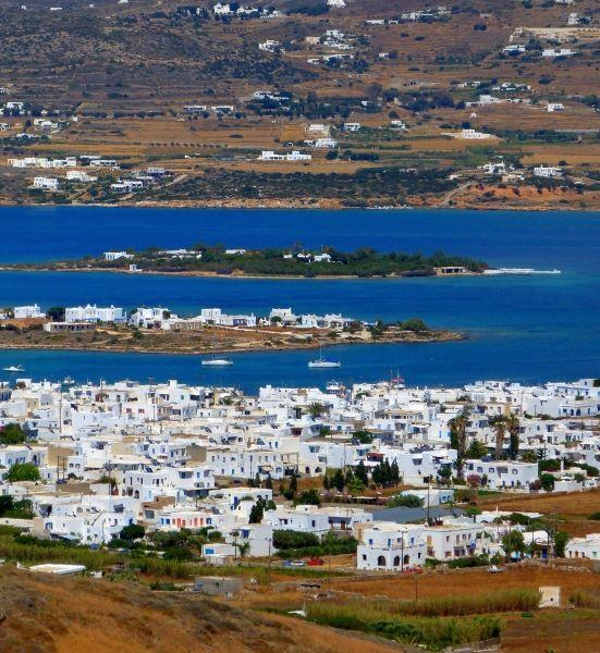 View to Antiparos Town