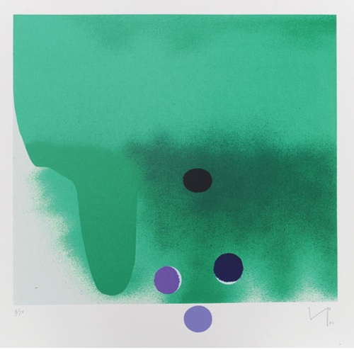 Victor Pasmore, Green Darkness