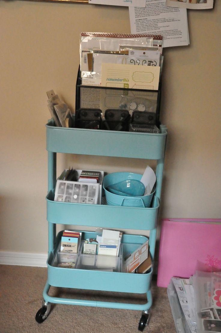ikea raskog cart for pl storage ikea raskog cart pinterest storage ikea cart and ikea raskog. Black Bedroom Furniture Sets. Home Design Ideas