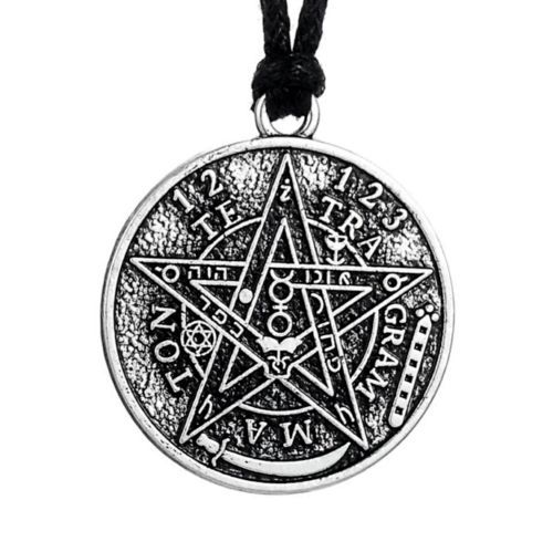 Antique-Silver-Tetragrammaton-Pentacle-Pull-Cord-Pendant-Necklace http://www.thesterlingsilver.com/product/fred-bennett-mens-p3189-silver-onyx-horn-and-cross-charm-pendant-on-black-cord-length-51cm/