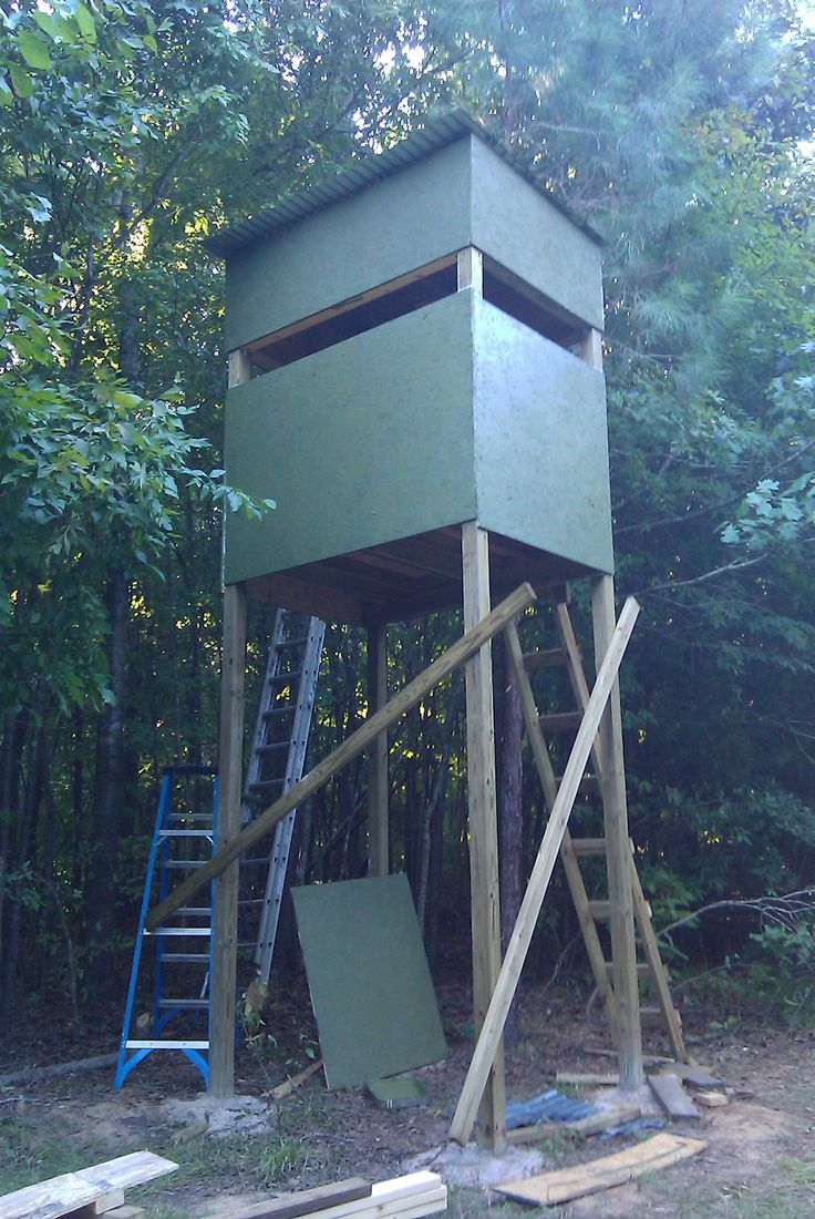 25 best ideas about deer stand windows on pinterest for Deer stand steps