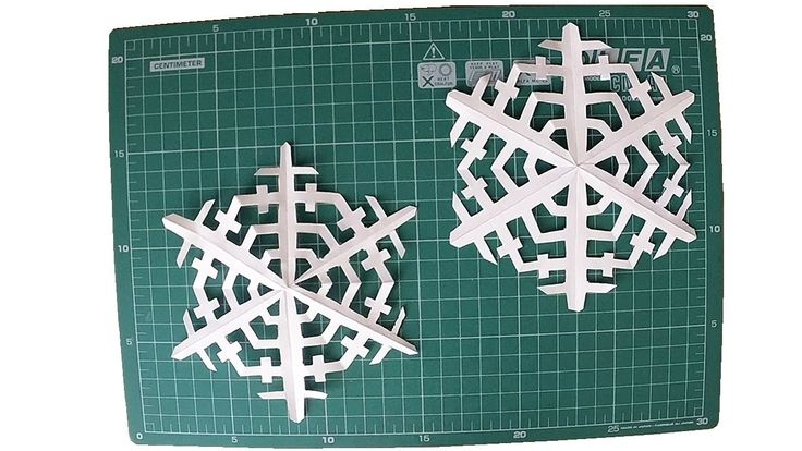 How to make: Paper Snowflakes