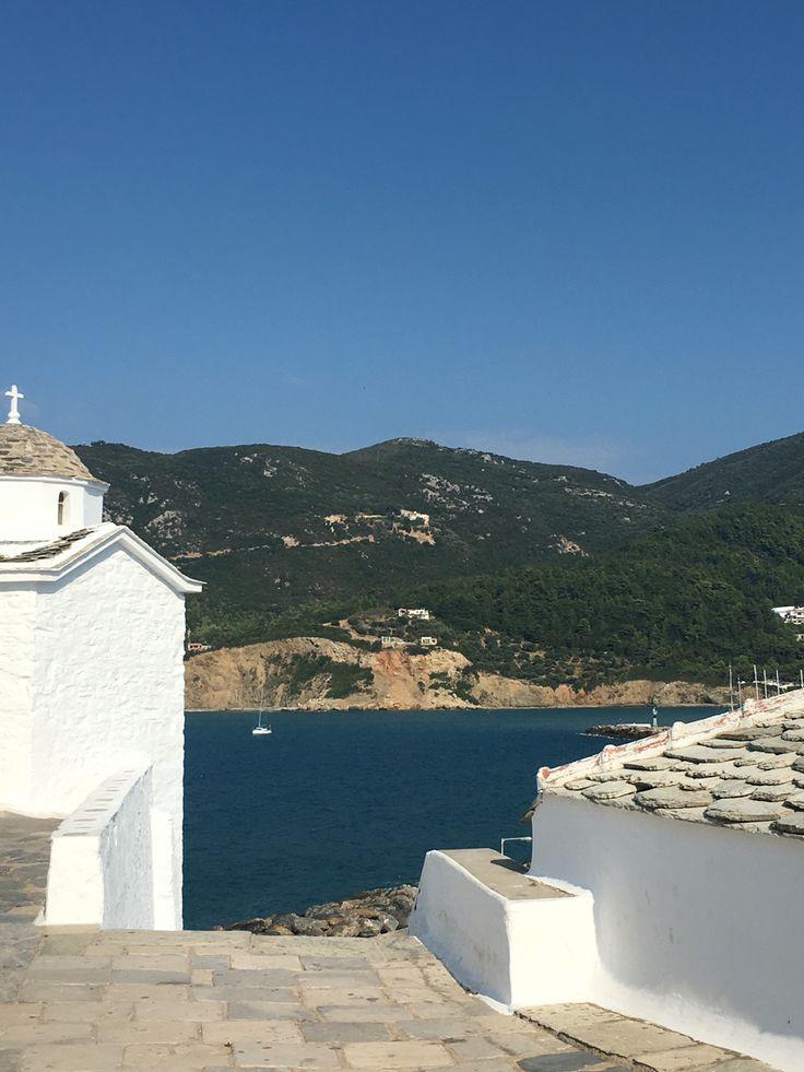 Skopelos island at Greece #lovegreece #skopelos #greece #summer