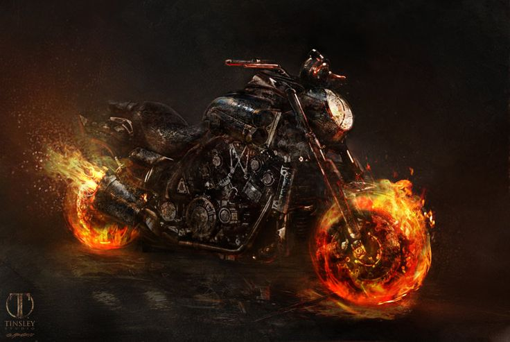 Ghost Rider Spirit of Vengeance Concept