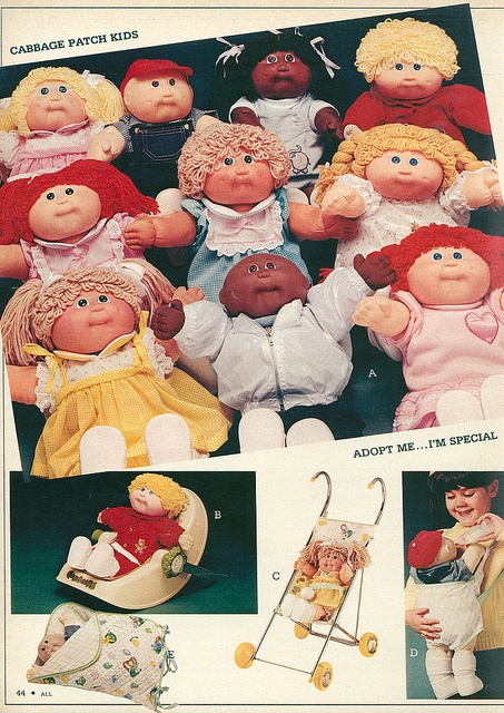 1983 Cabbage Patch Kids. Overalls.