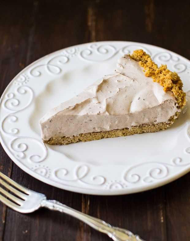 This Chocolate Cream Pie is the ultimate make-ahead dessert! A graham cracker crust is filled with a creamy, no-bake filling and chilled to perfection!