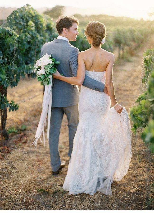 Sierra und Chase, Hochzeit in den Weinbergen von Jose Villa