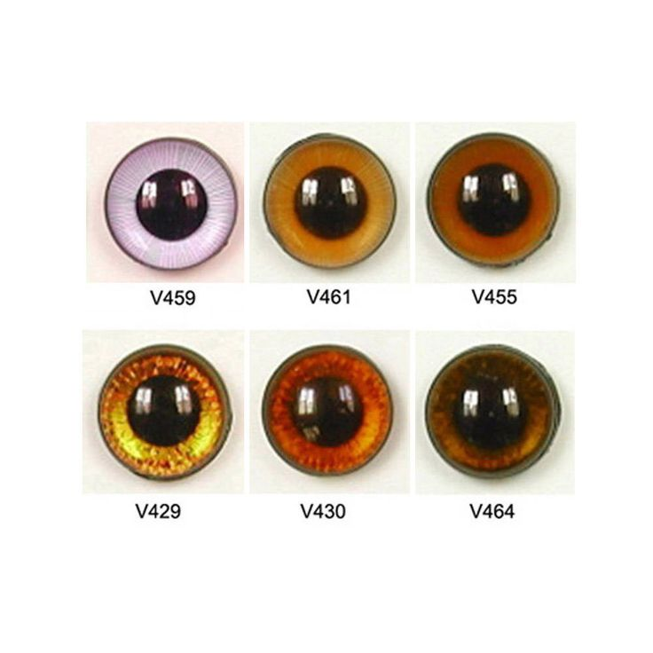 1 Pair 18mm Article V Plastic Safety Eyes Available in 6 Colours Round Pupils Teddy Bear Doll Puppet Plush Toy Stuffed Animal Plushie Craft by ShamrockRose on Etsy