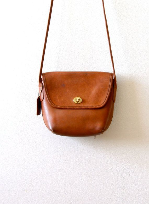 Vintage Coach small brown purse by ThisVintageGirl on Etsy, $45.00