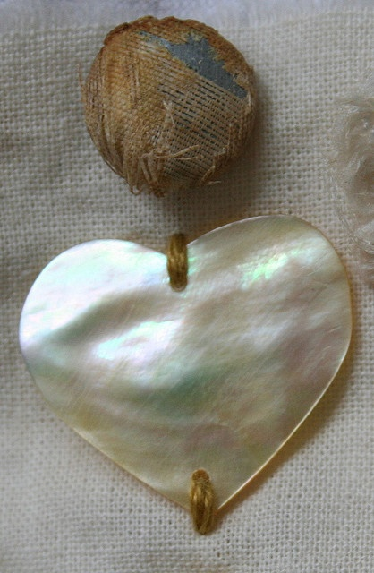 Mother of Pearl / Heart by Pam Garrison