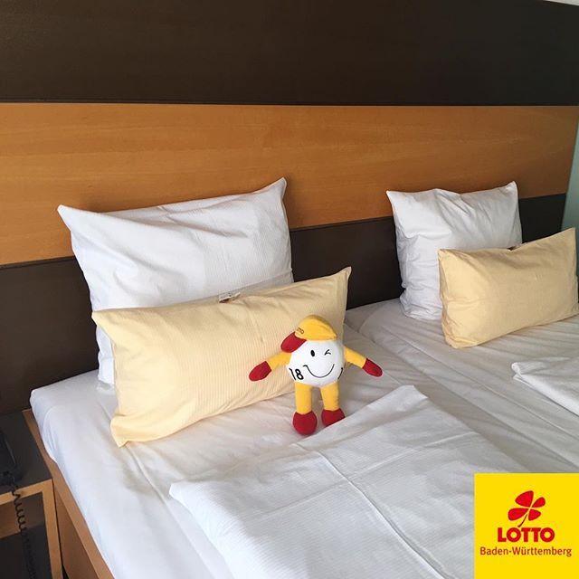 #Montag ist WINNY-Tag… Und unser #Maskottchen liebt es zu #verreisen. Auf dem Hotelbett am schönen #Bodensee wartet er auf die Abreise. Welches sein nächstes Ziel ist? Das erfährst du nächste Woche hier auf #Instagram! #badenwürttemberg #lakeofconstance #travelgram #happylifestyle #reisebegleitung #mitfahrgelegenheit #lottobw #Bodenseebilder #bodenseeliebe #bodenseekreis #bodenseeregion #bodenseepic #bodenseekultur #reisefotografie #reisenmachtglücklich #reiseblogger #reiselust…