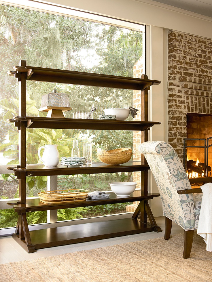 Paula Deen River House Pantry Rack In River Bank   Stain/Brown