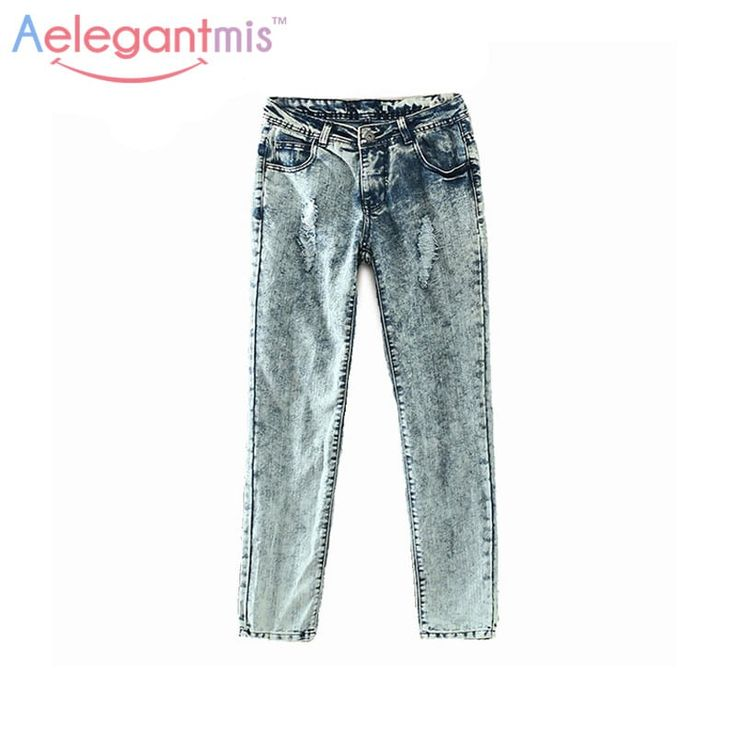 Vintage Hole Ripped Jeans //Price: $24.95 & FREE Shipping //     #me