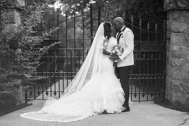 """""""You are the first person I think of when I wake up and the last person I think of when I go to bed. I don't want to be with you for 1 year and 5 months or 10 years. I want to spend forever with you. I hope you will spend the rest of your life with me Kelechi will you marry me?"""" – Head to the blog to read this #HowardUniversity love story & view their beautiful #wedding photos shot by @thearthype! Also – the bride's gorgeous gown was provided by #munacoterie member @cbbridaldc!  #munaluchi #munaluchibride #nigerianbride #dcbride"""