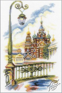 Bridges of St. Petersburg Cross Stitch Kit rto - Google Search
