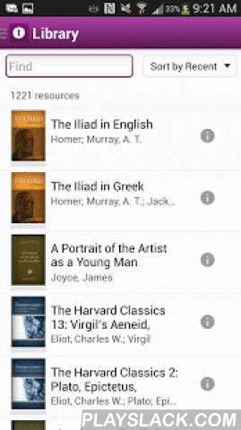 Noet Classics Research App  Android App - playslack.com ,  Connect to history's greatest minds with Noet—the free research app for the classics. Noet gives you the academic advantage with classic works, original-language tools, fast searches, and side-by-