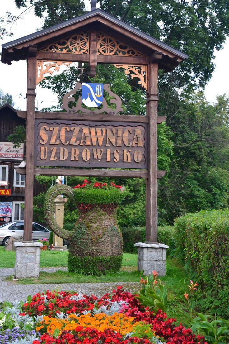 Deptak w Szczawnicy