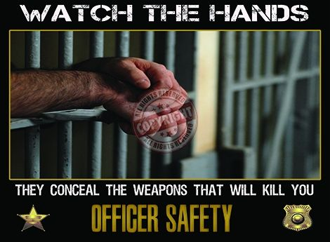 Corrections Officer Safety poster
