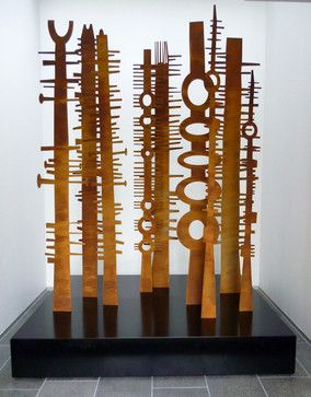 Bushfire Sculpture Set contemporary-sculptures
