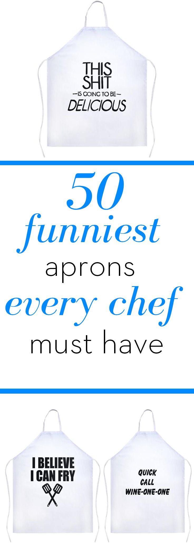 White stuff gateaux apron - Funny Aprons