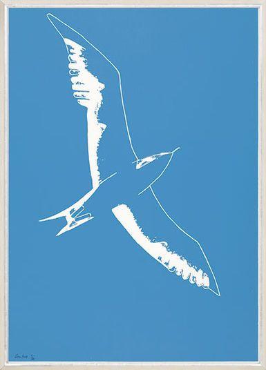 "Alex Katz, ""Seagull"", 2010 http://www.kunsthaus-artes.de/de/773047.R1/Bild-Seagull-2010/773047.R1.html#q=katz&start=4"