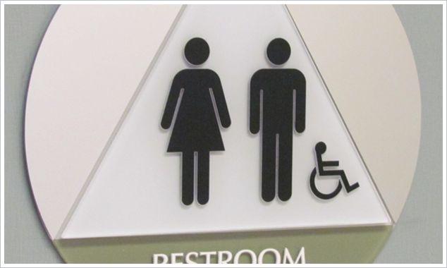 ADA Signs, ADA Signage, Landmark Signs, Custom ADA Signs, Restroom Signs, Braille Signs, Orange, CA