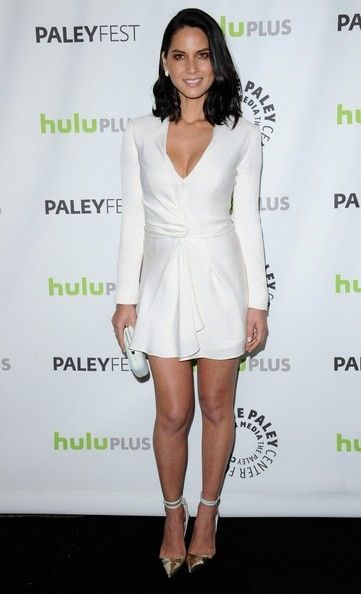 """Olivia Munn Photos - """"The Newsroom"""" - PaleyFest 2013..Saban Theater, Los Angeles, CA..March 3, 2013..Job: 130301A2..(Photo by Axelle Woussen)..Pictured: Olivia Munn. - 'Newsroom' Cast Poses at PaleyFest"""