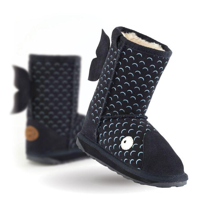 Whale Kids Deluxe Wool Boot- EMU Australia