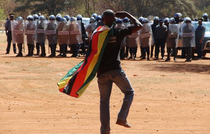 Now you can be jailed in Zimbabwe for flying its flag