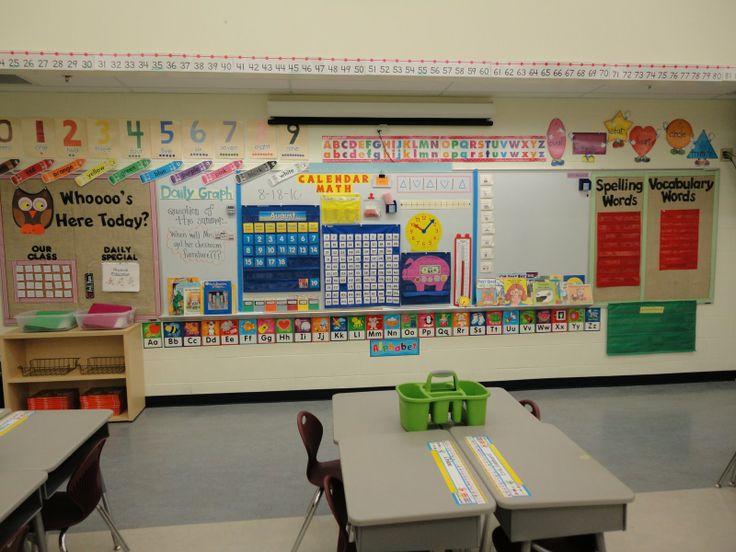 Classroom Calendar Ideas : Calendar wall ideas teaching pinterest