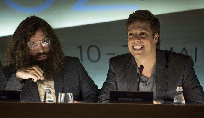 Gregorio Duvivier e Fabio Porchat interpretar cineasta e ator no longa (Foto: Rachel Ribas)