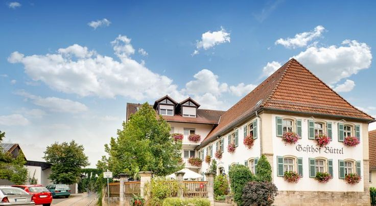 Landgasthof Büttel Geisfeld This family-run hotel in Geisfeld offers a traditional design, free Wi-Fi, and typical Franconian food. Bamberg's historic town centre is just 10 kilometres away.  The Landgasthof Büttel provides modern rooms with private bathrooms.