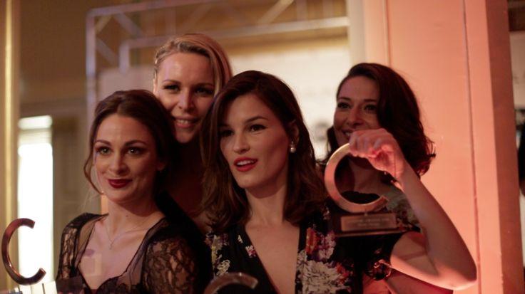 costume awards jenny skavlan vanessa rudjord hanneli og pia tjelta. Se flere bilder og film / see more on http://stylista.no/trender-og-guider/costume-awards-2014-bilder-og-film