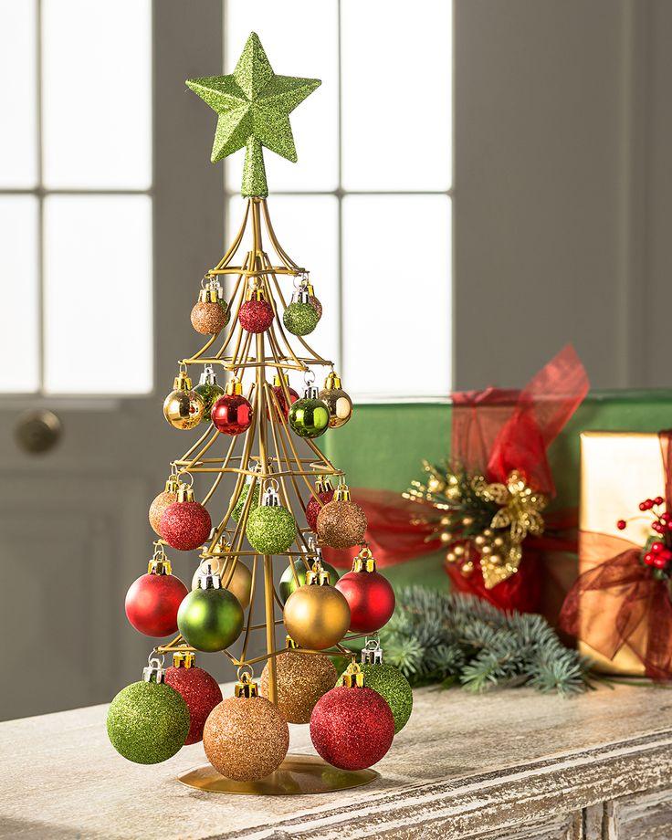 Un arbolito de esferas #LaNavidadDeLasCasas #easytienda #tiendaeasy #Navidad2016 #Easy