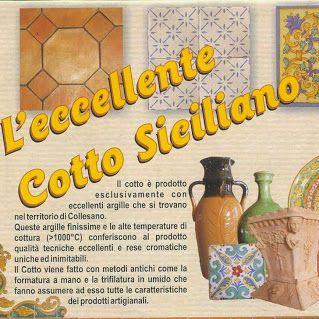 Volantino Cotto Siciliano COMED Ceramiche