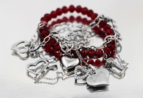 Joyas de acero para el dia del amor, precios mayoristas en www.biu.cl