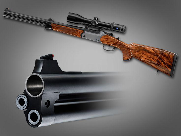 Blaser BD14 Drilling Bockdrilling 20ga Shotgun/ 30-06 Centerfire Rifle/22 Hornet Rifle