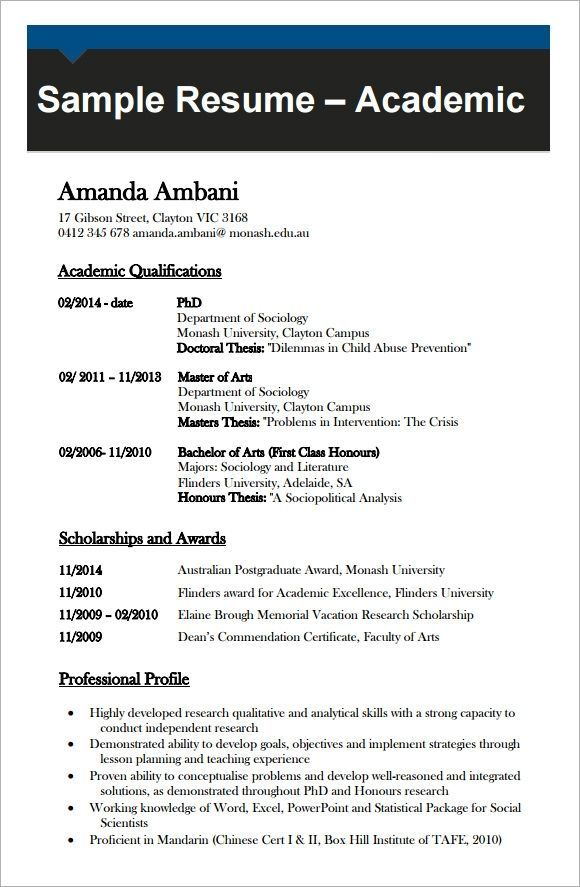 Cv Template Academic Andri Resume In 2020 Cv Template Word Cv Template Words