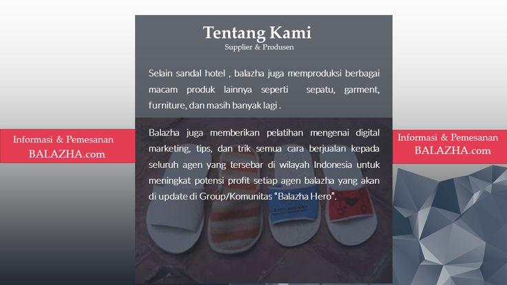 aneka macam sandal hotel surabaya. Balazha.com memproduksi berbagai jenis sandal hotel dengan kualitas terbaik.