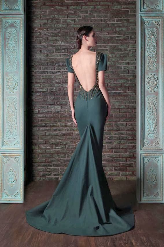 """Prepare to have your minds blown. Lebanese designer Rami Kadi once again proves he is the King of couture. His latest collection of evening dresses are mouth watering to say the least. The """"Le Gala Des Mystères"""" collection features awesome structure, amazing texture (the embroidery is to die) and jaw-dropping backs… *swoon*. Most of these …"""