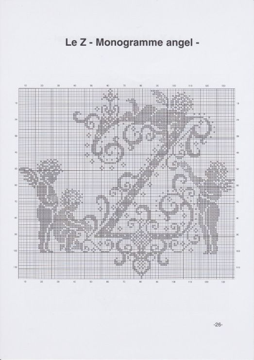 Gallery.ru / Фото #12 - JD327 - Monogrammes Angels - lyulnar