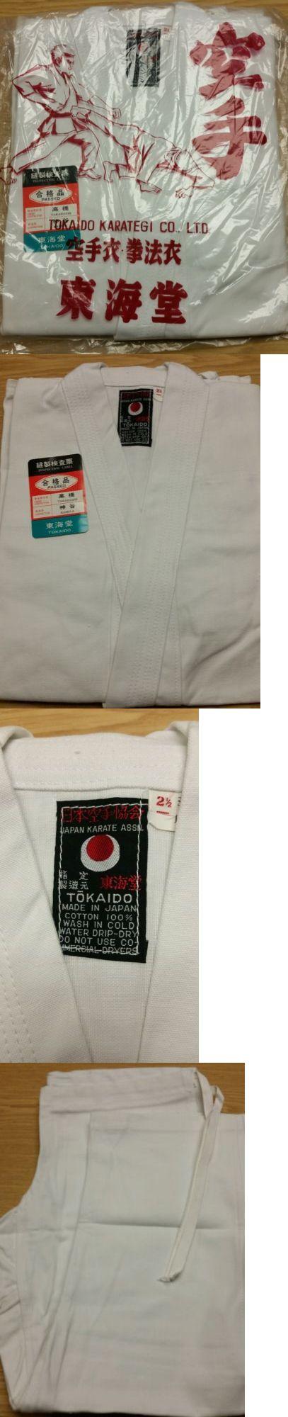 Uniforms and Gis 179774: Tokaido Karate Gi (White) Size 2 1/2 -> BUY IT NOW ONLY: $75.0 on eBay!