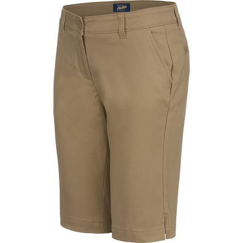 Austin Trading Co. Juniors' Bermuda Uniform Short (Beige Or Khaki, Size 9/10 Junior) - School Uniforms, Women's Uniform Bottoms at Academy Sports