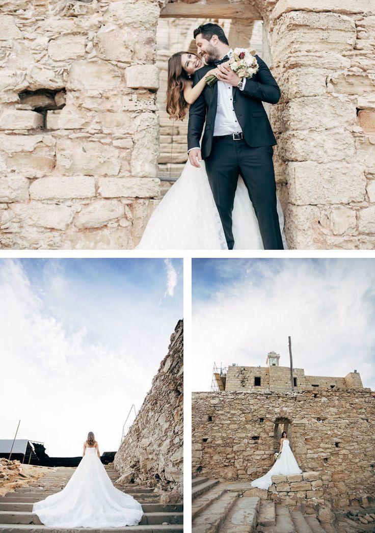 kıbrıs düğün dış çekim - apastolos andreas manastırı
